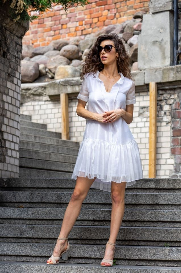 Silk dress Ines