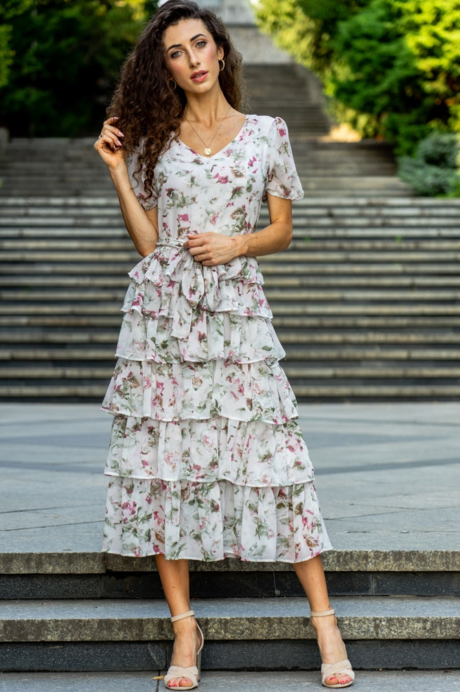 LOVE ANGEL Midi dress