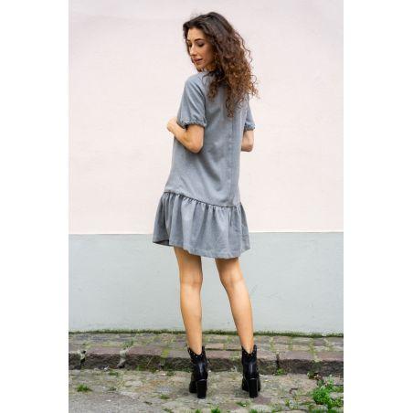 Sukienka wełniana Ines