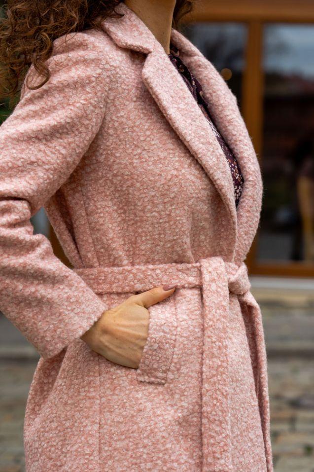 Płaszcz Italy Pink
