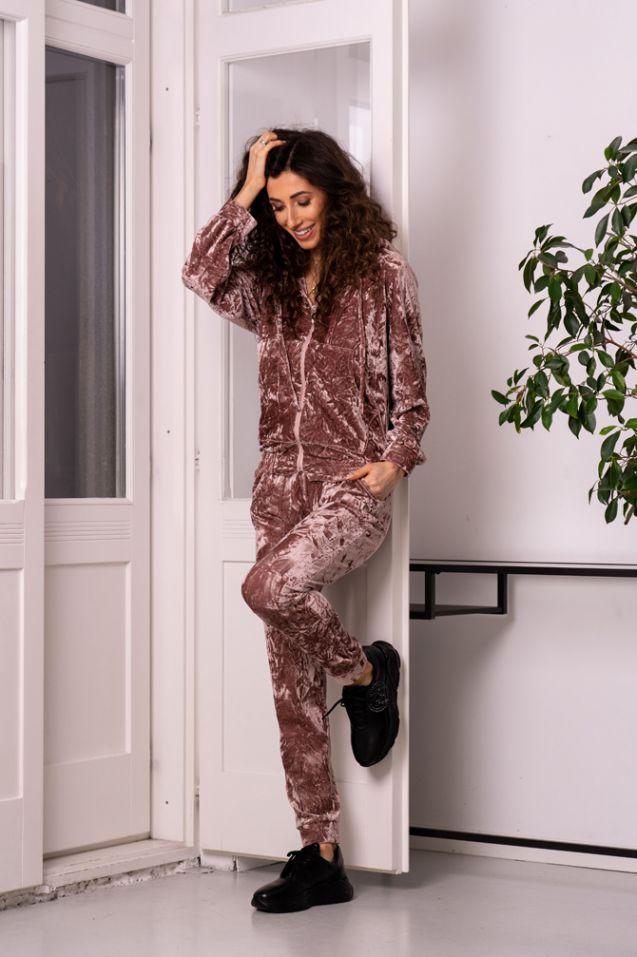 Spodnie dresowe Dark Pink