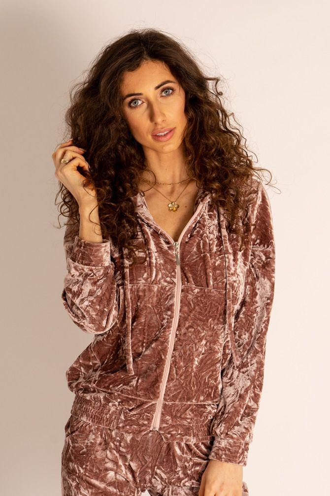 Sweatshirt Dark Pink