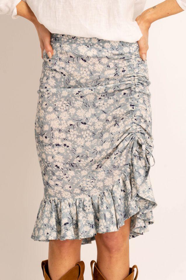 Vivienne blue skirt