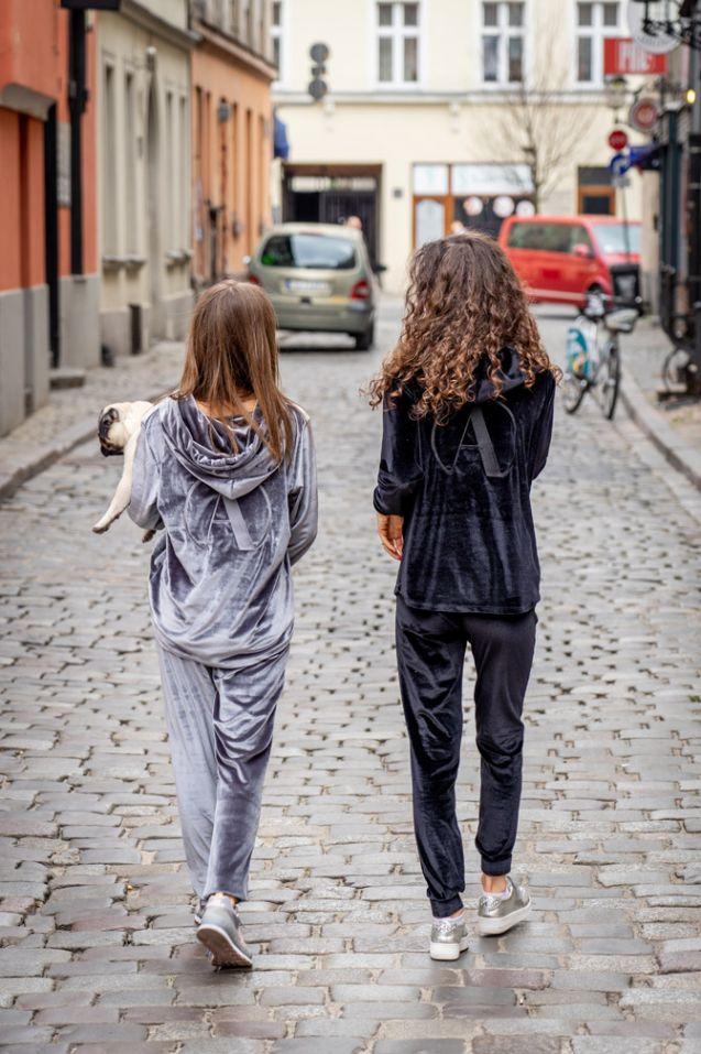Bluza dresowa Black Long