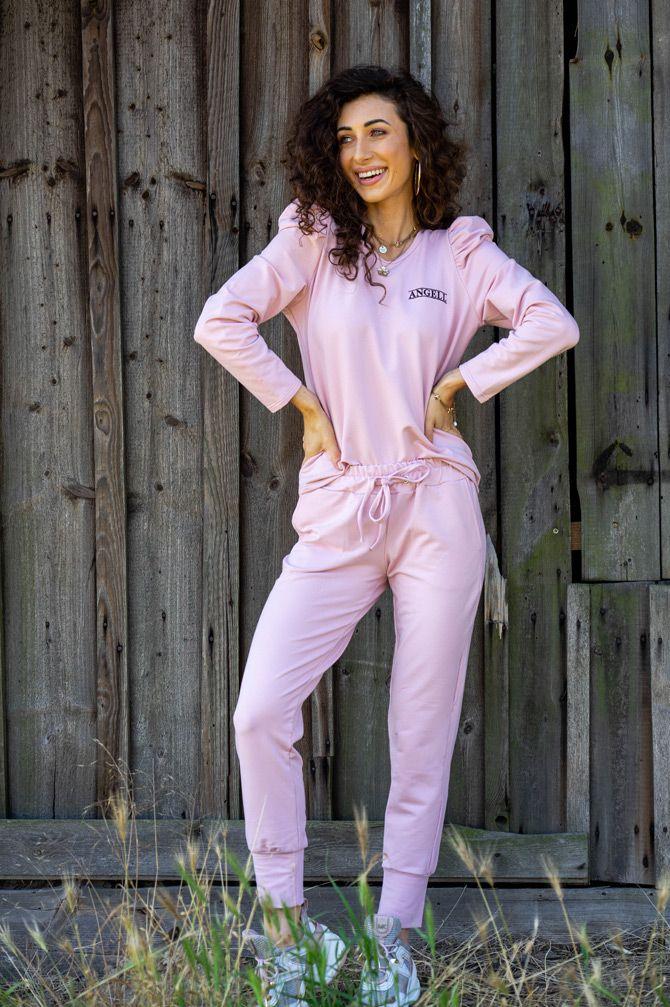 Spodnie dresowe Mona Pink