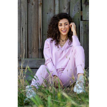 Bluza dresowa Anabel Pink