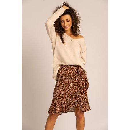 Carla put on skirt