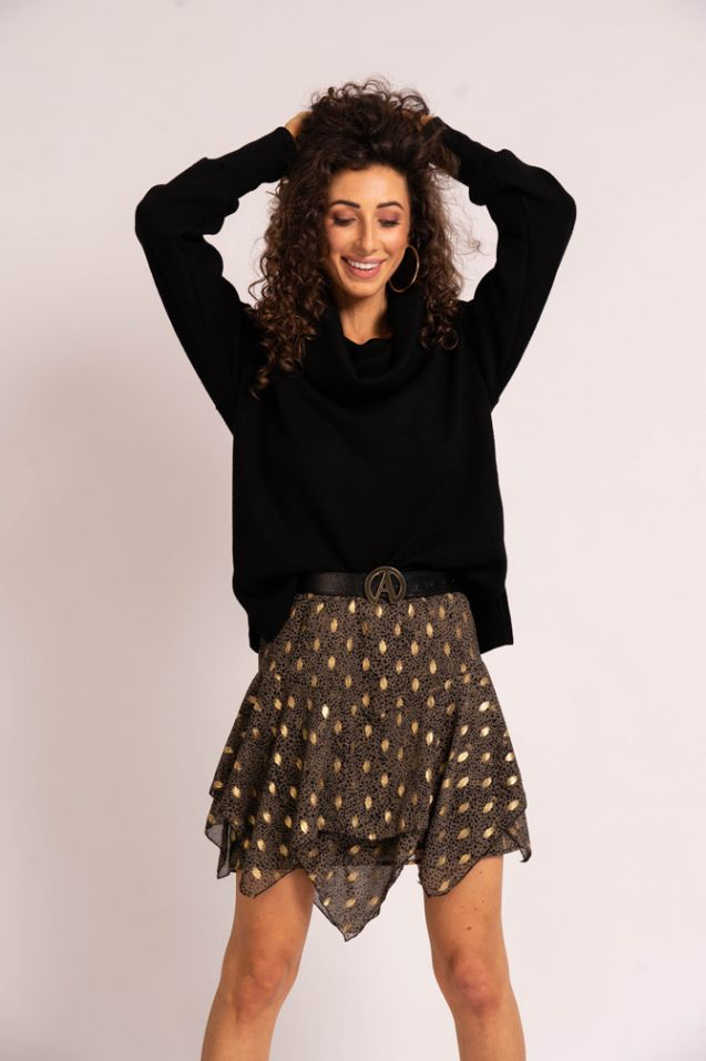 Asymmetrical Emma skirt