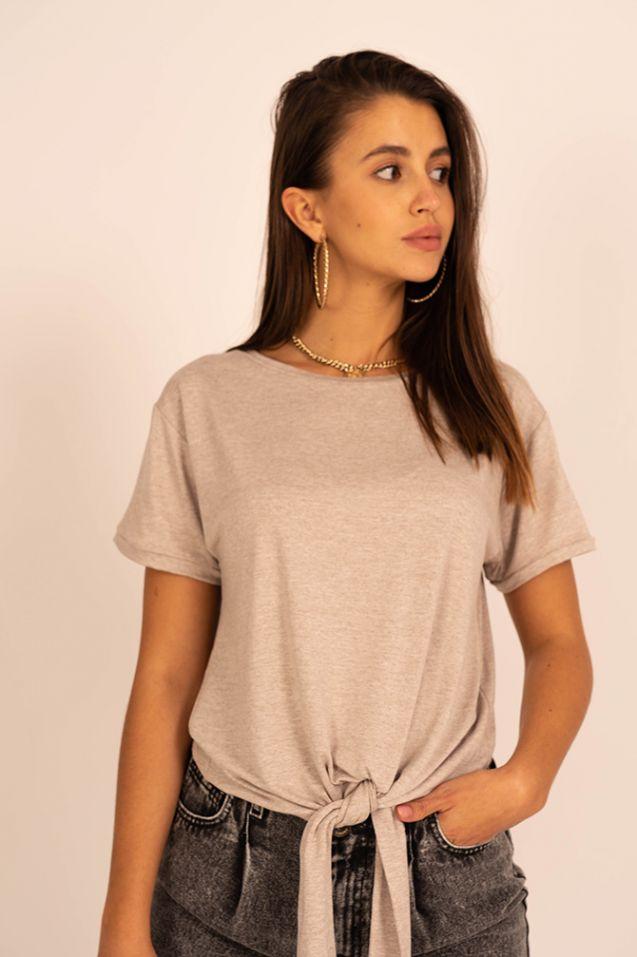 T-shirt wiązany Mika